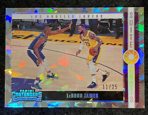 Lebron James 2020-21 Contenders Suite Shots Cracked Ice SSP /23 Lakers Nice!