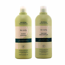 Aveda Be Curly Shampoo and Conditioner 33.8 oz / 1 liter duo BB