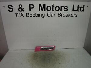 Fiat 500 08-15 NS Passenger Side Rear Quarter Moulding Rub Strip Pink 735431949