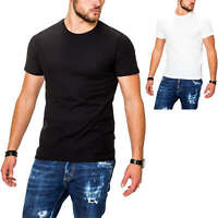 Jack & Jones Herren T-Shirt Kurzarmshirt Herrenshirt Basic Stretch Shirt SALE %