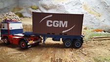Pour Siku Control 1/32 ESCI 20' conteneurs caravane de ne plus dans le commerce d'avoir