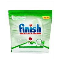 FINISH 0% DISHWASHER TABLETS -  42 PACK