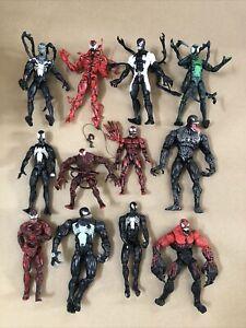 "Marvel Legends Venom/Symbiotes/Villains Figure Lot Of 12 6"" Figures Lot#1"