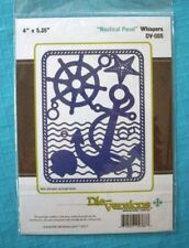 Die-versions - Nautical Panel Die - Compatible with Cuttlebug & Sizzix