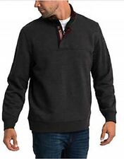 Orvis Men's Signature Fleece Pullover (Dark Charcoal, M)