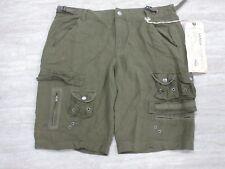 NEW Da-Nang Women's Summer Shorts Cargo Shorts MILITARY GREEN CLT621 X-SMALL XS