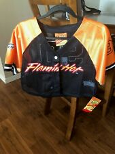 Forever 21 Flamin Hot Cheetos Collection Crop Top Jersey NWT Size SMALL