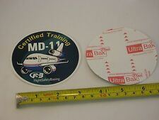 FlightSafety Boeing MD11 (McDonnell Douglas MD-11) airlines aircraft sticker NEW
