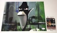 WILLEM DAFOE Signed 11X14 FINDING NEMO Gill IN PERSON Autograph JSA COA