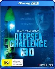 James Cameron's Deep Sea Challenge 3D (Blu-ray, 2014) New Region B