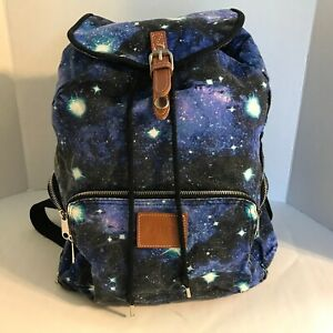 Victoria's Secret Pink Galaxy Celestial Full Sized Backpack Bookbag Rare
