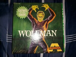 1969 Aurora Glow Wolfman #450-150 Model Kit NEW VINTAGE UNSEALED