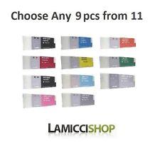 9 Color selection Epson Stylus Pro 7890 9890 Compatible Cartridges 700ml Pigment