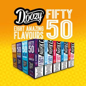 DOOZY Vape Juice E-Liquid 10ml | 3mg 6mg 12mg 18mg Nicotine | 50/50 QUALITY UK
