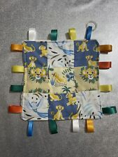 Lion King Patchwork Homemade 20cm Square Comforter Taggie Inc Dummy Adapter