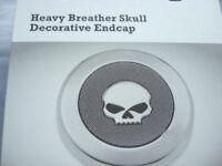 Harley Davidson Skull Luftfilter Endkappe Medallion für Screamin Eagle 28720-10