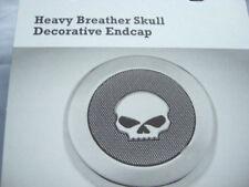 Harley Davidson Skull Endkappe Medallion Luftfilter für Screamin Eagle 28720-10