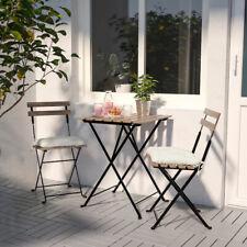 Ikea TÄRNÖ Balkonset Terasse Bistroset Sitzgruppe Gartenmöbel Tisch +2 Stühle
