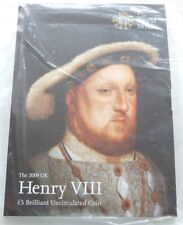 2009 Royal Mint Henry VIII 500th Anniversary BU £5 Five Pound Crown Coin Sealed