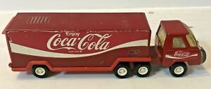 Vintage 1970's Buddy L Corporation Coca-cola Advertising Truck / Lorry Toy