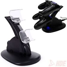 PlayStation PS4 Dual Controller LED Charger Dock Station USB Charging Stand