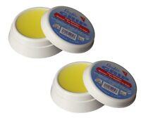 2x Läufer Grip Fingeranfeuchter Anfeuchter Dose 20g antibakteriell