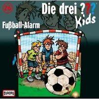 DIE DREI ??? KIDS - 026/FUßBALL-ALARM  CD NEUWARE