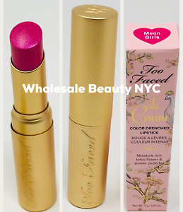 Too Faced La Creme Color Drenched Lipstick Moisture Rich Mean Girls 0.11 oz