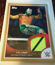 WWE Sin Cara 2016 Topps RTWM Event Used Shirt GOLD Relic Card SN 2 of 10