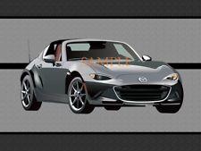 Mazda MX5 MX 5 MX-5 Miata RF New Model Graphic Art Doormat Door Mat Floor Rug