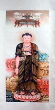 Buddha Amitabha Rollbild Bodhisattva, chinesische Malerei