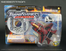 POWERLINX THRUST + Mini-Con INFERNO Transformers Armada 2003 Red Hasbro New