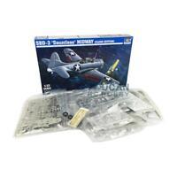US Stock U.S.Navy SBD-3C Dauntless Dive Bomber Aircraft Trumpeter 1/32 02244