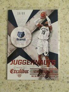 2014-15 Excalibur Juggernauts Vince Carter Memphis Grizzlies 16/99 #23