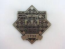 1993 Indianapolis 500 Silver Pit Badge Emerson Fittipaldi Marlboro Team Penske