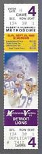 1983 NFL DETROIT LIONS @ MINNESOTA VIKINGS FULL UNUSED FOOTBALL TICKET