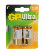 GP Batteries Ultra Alkaline Batteries (Type C Packing 2)