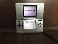 Nintendo DS NTR-001 Silver USED Handheld System - Console Only - Tested Works