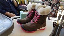 Jambu Collett Waterproof Warm Ankle Boots pink /brownKids Yth GIRLS 2M