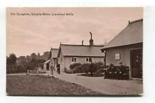 Llanwrtyd Wells - The Bungalow, Victoria Wells - 1917 used Breconshire postcard