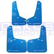 Rally Armor UR Mud Flaps Nitrous Blue w/ White for Focus ST & RS MF27-UR-NBL/WH