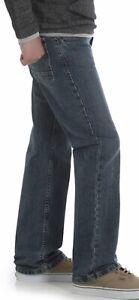 NWT BOYS WRANGLER Med Blue Jeans Size 12 Husky Adjustable Waist Flex Comfort NEW