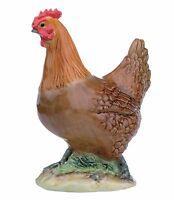 John Beswick Rhode Island Red Hen Figurine  NEW in Gift Box - 25776