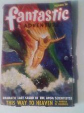 FANTASIC ADVENTURES PULP MAGAZINE. OCTOBER 1948.
