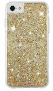 Case-Mate Twinkle Case for iPhone SE (2020) 8 / 7 / 6s / 6 - Twinkle Gold - New