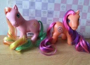 My Little Pony G3  sunny salsa pick a lily set htf