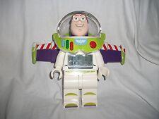 Lego Minifigure Alarm Clock, Toy Story Buzz Lightyear Very RARE! 24cm tall!