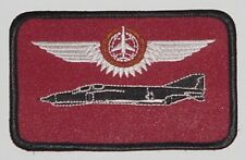 Écusson patch namemsschild f-4 Phantom II combat observateurs en bronze... a3605