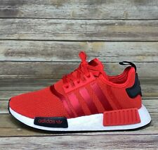 NEW IN BOX Adidas NMD_R1 'Red Black' Womens shoe Sizes FW3307 NMDs