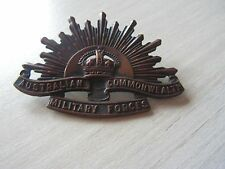 insigne australian commonwealth military forces  1914   1918